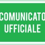 Comunicato Ufficiale n2/2020